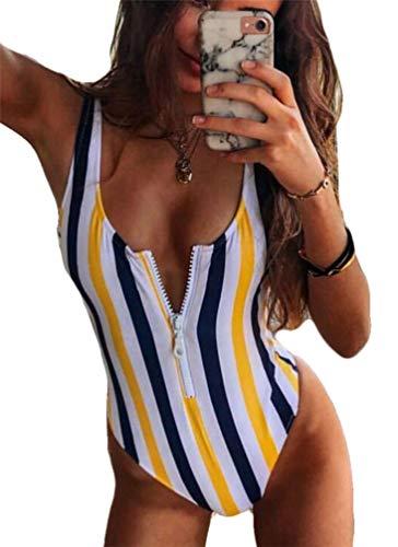 Yutdeng Conjuntos de Bikinis Push up Traje de Baño Mujer