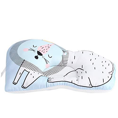 SALUTUYA Colchón de Cama portátil de Fibra extrafina para Dormir Infantil para bebé niño niña(Forest Lion)