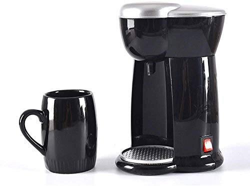 Coffee Machine, Compact Coffee Machine,140ml Coffee Maker With Anti Drip Function,300w,Filter Coffee Maker With 3 Minute Brew Time,Reusable,Washable Filter,for espresso cooker