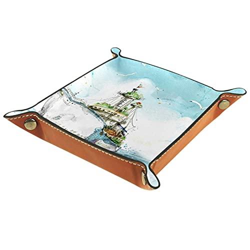Organizador de papel de velero, ColorTray, soporte de archivos para aula, contenedor de almacenamiento de suministros escolares, cajón organización, cestas de cartas