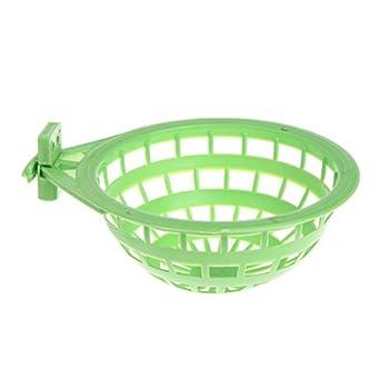 Nid d'oiseau en plastique creux à suspendre pour cage à œufs, outil pour écloser, pinson, perroquet, canari