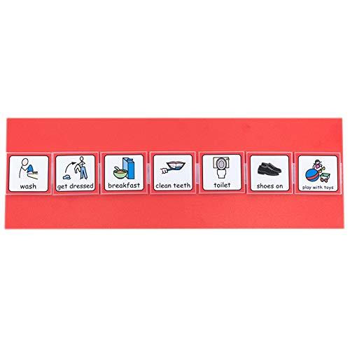 Symbole personalisierbar Morning Routine Diagramm mit widgit T