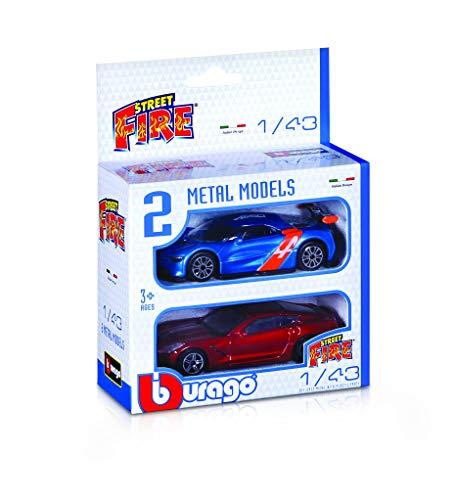 Burago- Modellino Die Cast, 18-30002 - Modelli assortiti - 3 anni+