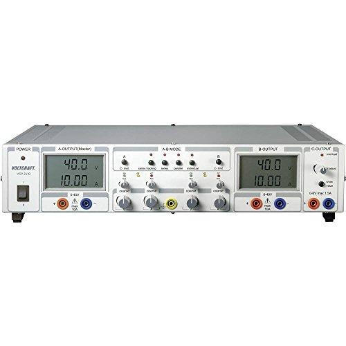 Voltcraft VSP 2410 Labornetzgerät, einstellbar 0.1-40 V/DC 0-10A 809W Anzahl Ausgänge 3 x