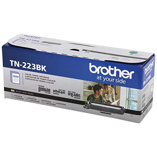 BROTHER TN-223BK Cartucho de tóner Original Negro 1 Pieza(s) - Tóner para impresoras láser (1400...