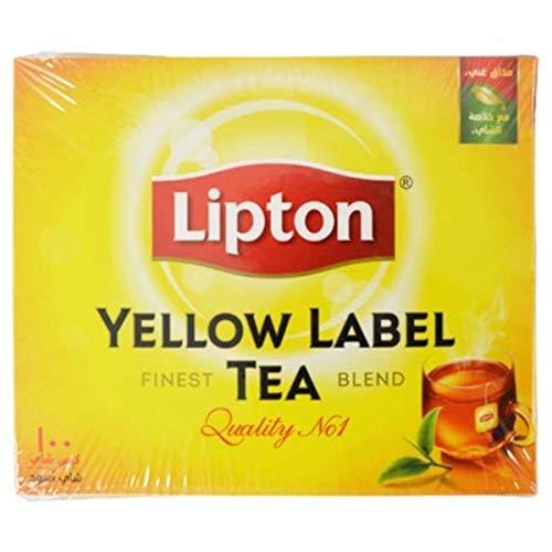 Lipton Yellow Label Tea Bags 100ct (Pack of 4)