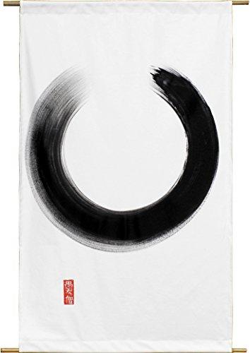 Tierra Zen PE002 - Pintura Sobre Lienzo, Circule Pequeños, 142 x 88 cm