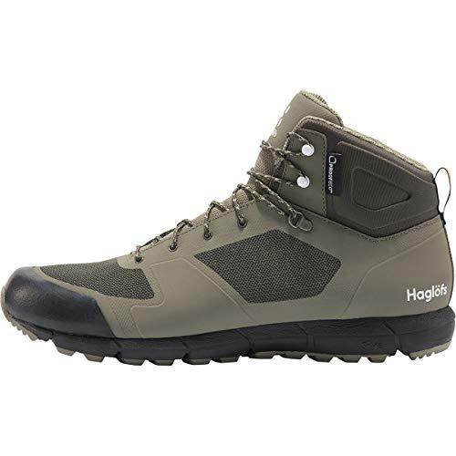 Haglöfs Herren L.i.m Mid Proof Eco Walking-Schuh, 3p2-Salbeigrün/Tiefwald, 44 2/3 EU