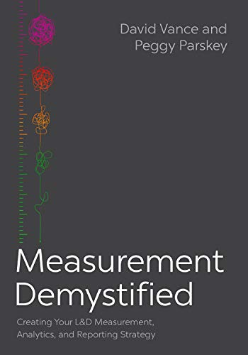 Compare Textbook Prices for Measurement Demystified: Creating Your L&D Measurement, Analytics, and Reporting Strategy  ISBN 9781950496891 by Vance, Dave,Parskey, Peggy