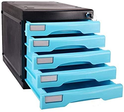 File cabinet File Armadi 4th Floor Desktop Supporto di plastica File Storage Box Family Office Cabinet Desktop Archive Storage Manager Mobile Home Office Armadi archivio