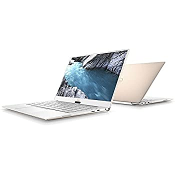 "Dell XPS 9370 Laptop, 13.3"" UHD (3840 x 2160) InfinityEdge Touch Display, 8th Gen Intel Core i7-8550U, 8GB RAM, 256 GB SSD, Fingerprint Reader, Windows 10, Rose Gold"