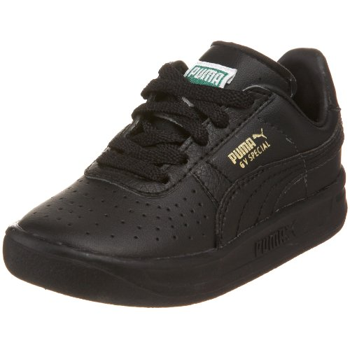 PUMA GV Special Kids Sneaker , Black/Black/Metallic Gold, 5 M US Toddler