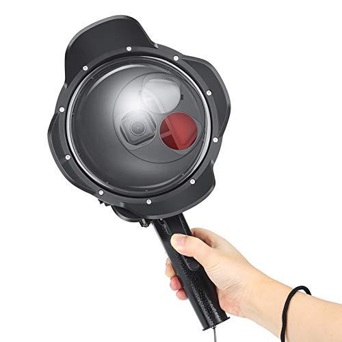 D&F for GoPro Kamera Zubehör Unterwasser Transparente Dome Port mit Lupe und Filter für GoPro Hero 7 Schwarz/Hero 6 / Hero 5 / Hero (2018) Unterwasser Fotografie