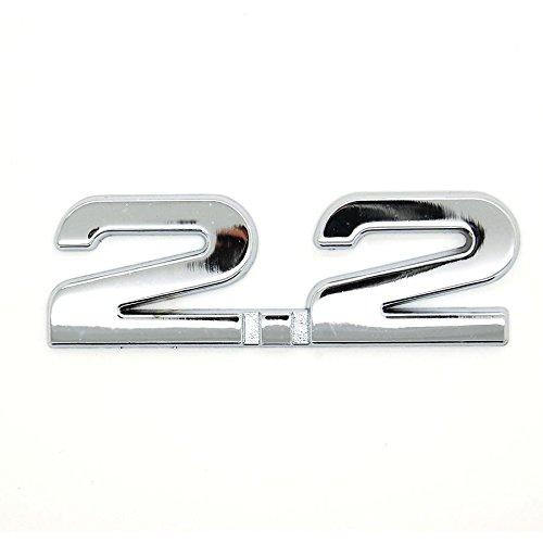 Sticker 3D en métal pour voiture 2.2