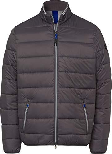 BRAX Herren Style Cole Outdoor Long Season M Fake Daune Jacke, Anthra, XXXX-Large (Herstellergröße: 64)