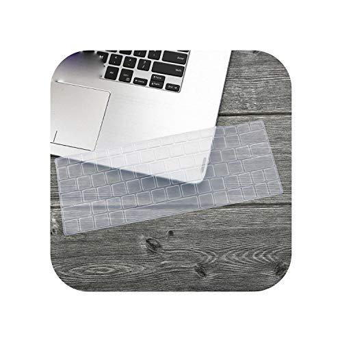 F-pump Funda de teclado para portátil Asus Zenbook 13 Ux333 Ux333Fa Ux333Fn Ux333F U3300 Ux 333 Ux 333 Fa Fn 13.3 pulgadas, 3 pulgadas, color transparente