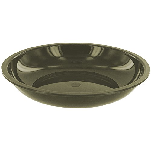 Highlander Deep Bowl 20 cm Kunststoffteller, Oliv
