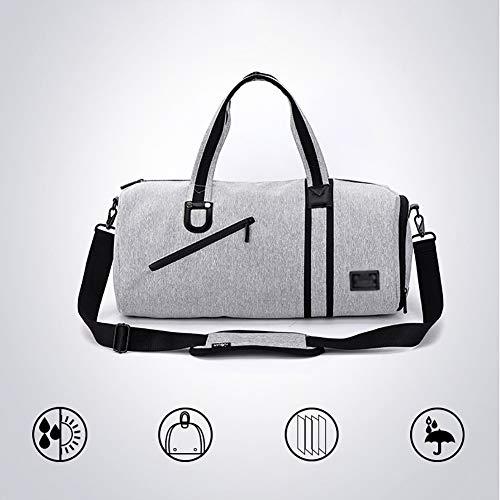Sporttasche Für Männer - Sport Fitnessstudio Schwimmen Yoga Fitness mit Schuhfach Wasserfeste Reisetasche  Nasse Tasche Gepäck Reiserucksack