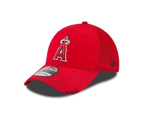 New Era MLB Neo 39THIRTY Stretch Fit Cap, Herren, Los Angeles Angels, Small-Medium