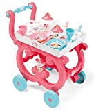 Smoby - 310572 - Disney Princesses - Desserte XL - Plateau Amovible - 17 Accessoires