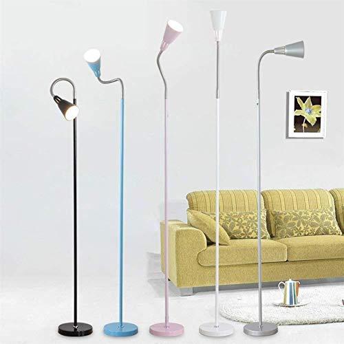 Brightz Lámpara de pie, Simple de pie luminarias Led Protección for los Ojos Modernos lámpara Creativa Luces de Piso de la Sala de Estar Cama (Color : C)