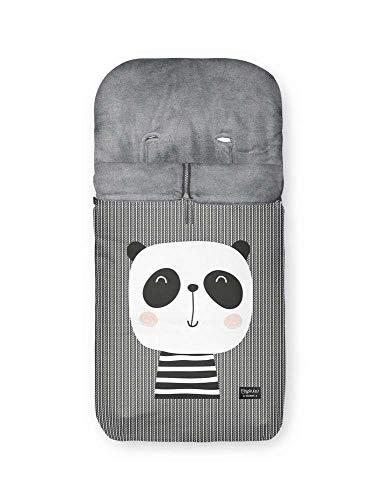 Pirulos – Sacco a pelo per passeggino, mod. 452 Orso Panda 368 35