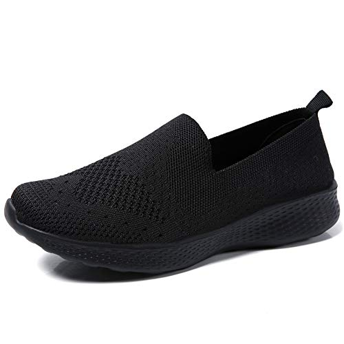 [DimaiGlobal] ウォーキングシューズ レディース スリッポン ローファースニーカー ランニング 婦人靴 矯正靴 厚底スニーカー 運動靴 ナースシューズ 船型底 軽量 柔軟 通気 美脚 看護師 作業靴 ダイエットシューズ カジュアルシューズ