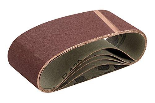 Triton TPTA12693646 Schleifbänder, 75 x 480 mm, 5er-Pack, braun