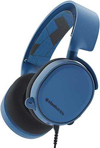 SteelSeries Arctis 3 All-Platform Gaming Headset for PC, PlayStation 4, Xbox One, Nintendo Switch, VR, Android and iOS - Boreal Blue