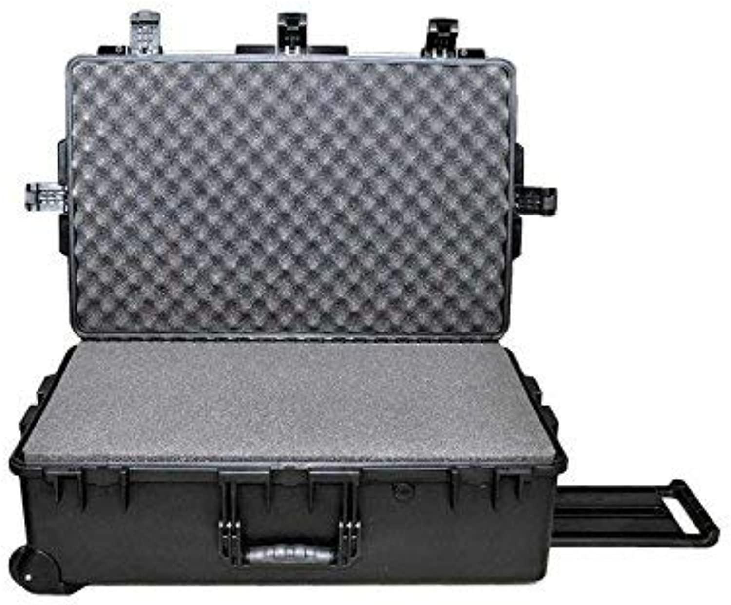 Tricase M2950 Plastic   trolley  tool box organizer Waterproof heavy duty tool box