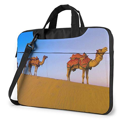 Laptoptas computertas mouwafdekking, caravans schoudertas Travel Tablet Schouder Handtas 15,6 inch