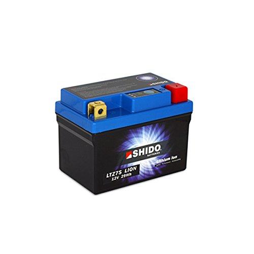SHIDO LTZ7S LION -S- Batterie Lithium, Ion Blau (Preis inkl. EUR 7,50 Pfand)