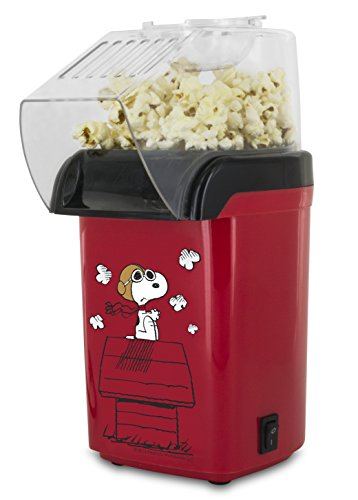 Great Deal! Smart Planet OPP‐1SPP Peanuts Snoopy Popcorn Air Popper, Red
