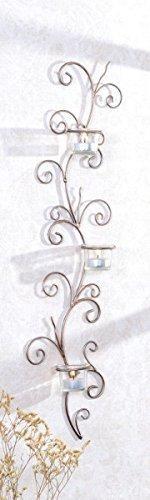 Gravidus Wandkerzenhalter Wandleuchter mit 3 Teelichthaltern