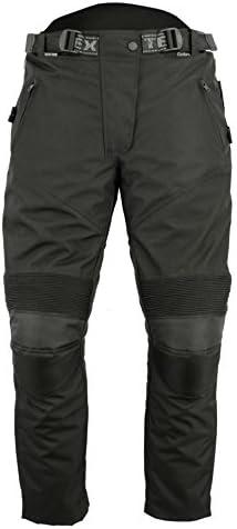 Texpeed Pantalones De Motorista Para Mujer Con Protector Homologado Por La Ce Impermeables Cordura Negro Amazon Es Ropa Y Accesorios