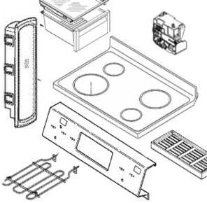 Choice 318537503 Deflector Genuine Original Manufacturer Popular popular Equipment OEM