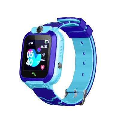 Kids Smart Watch - IP67 Waterproof GPS Tracker Smartwatches Child Wrist Digital Watch Phone SOS Alarm Clock Camera Game Phone Watch for Children Age 3-12 Boys Girls with iOS Android Gifts