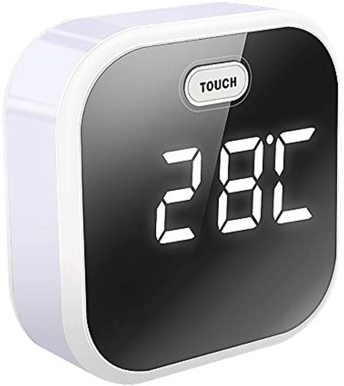 Sunrise Wecker, Digitale LED-Uhr, Wecklicht mit 7-Farben-Licht, FM-Radio, Farblicht, Touch Control Bedside Sunrise Simulator