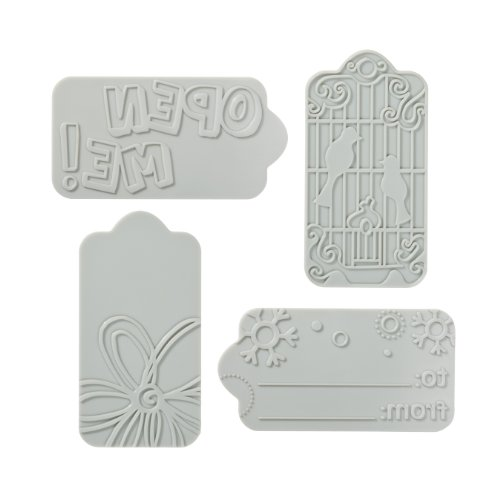 Fiskars Fuse Creativity System Tag Desing Plate Expansion Pack, Medium