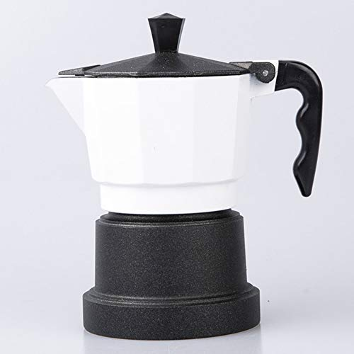 Amazing Deal Coffee moka pot Moka Pot Coffee Pot Black Base Coffee Maker Household Home Essentials E...