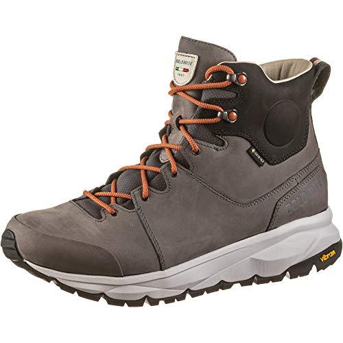Dolomite Bota MS BRAIES GTX, Stivali da Escursionismo Alti Uomo, Grigio Canna di Fucile, 41.5 EU