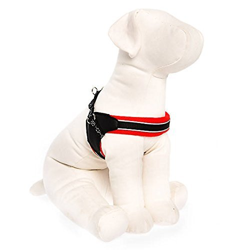 TOP PAW New Fit Dog Harness Red X-Large