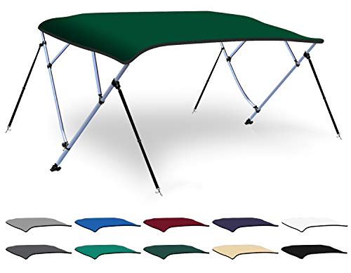 Review Of XGEAR 3-4 Bow Bimini Top Boat Cover with 4 Straps, Mounting Hardwares and Storage Boot, Fu...