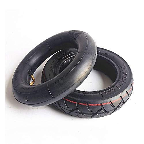 CHHD Neumáticos para patinetes eléctricos, 10X2.50 Neumáticos Interiores y Exteriores Antideslizantes Resistentes...