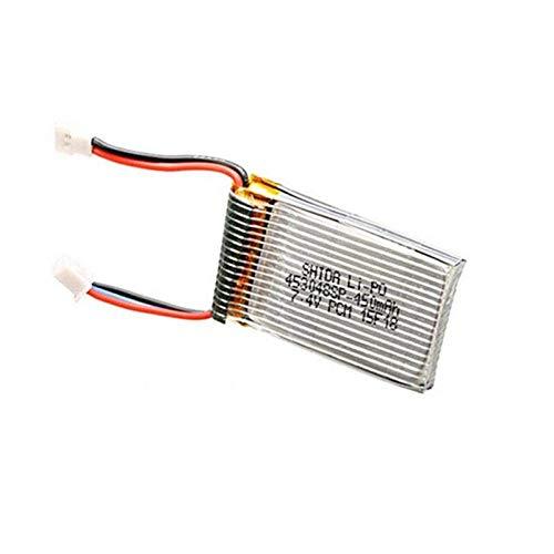 GzxLaY Batteria di Backup ad Alte Prestazioni 3.7V 450mAh Batteria per Cheerson CX-32 CX-32C CX-32W CX-32S CX-33 RC Quadcopter Ricambi-1PCS X Batteria ( Color : 3pcs X Battery )
