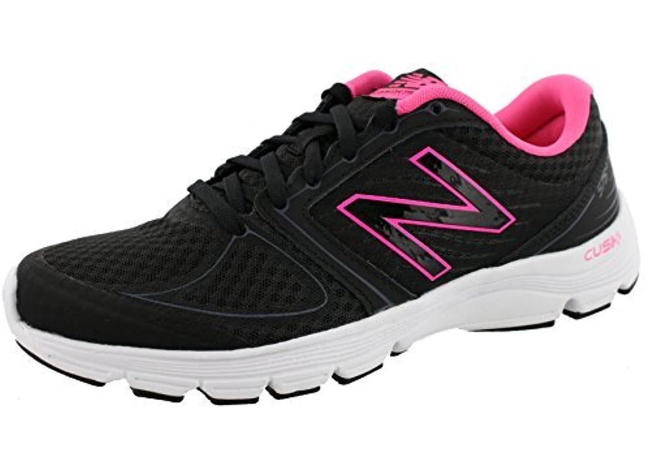 指規模対話New Balance Women's 575v2 Running Shoe Black/Pink 8.5 B US [並行輸入品]