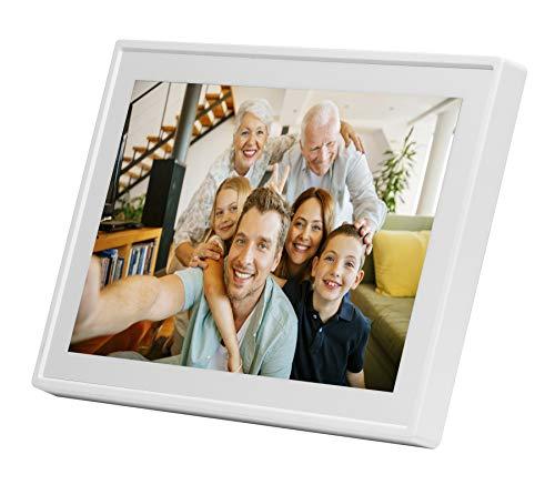"""Denver PFF-711WHITE 7"""" Pantalla táctil WiFi Blanco - Marco Digital (17,8 cm (7""""), 1024 x 600 Pixeles, IPS, MicroSD (TransFlash), Cuadro por Cuadro, Rotación, Horizontal/Vertical)"""