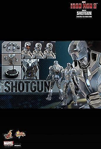 Hot Toys MMS309 - Marvel Comics - Iron Man 3 - Iron Man Mark 40 Shotgun - 1 6 Officiel