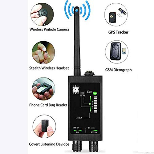 TANCEQI Radio Detector GSM RF Signaal Auto Tracker GPS Tracker Finder Bug met Lange Magnetische LED Antenne