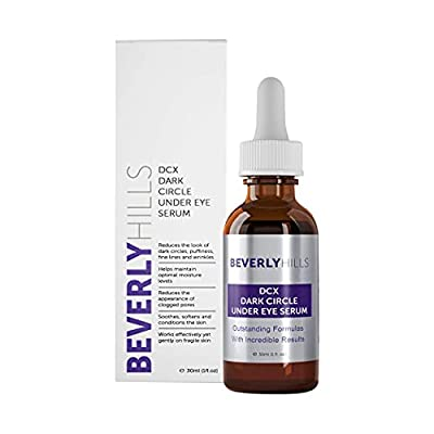 Beverly Hills DCX Eye Serum for Dark Circles, Puffy Eyes, Wrinkles and Crows Feet by Beverly Hills